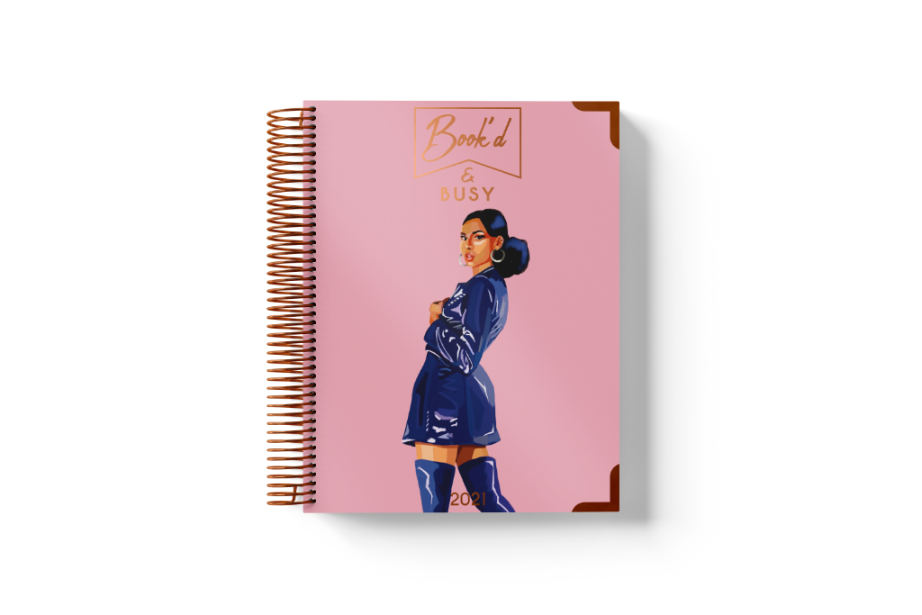 2021 Book'd & Busy Planner Kit