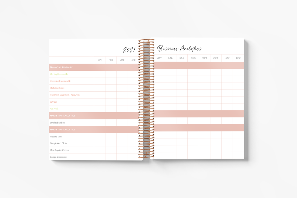 PRE-ORDER! 2021 Book'd & Busy Planner Kit