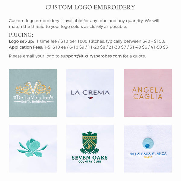 Monogramming - Custom Logo