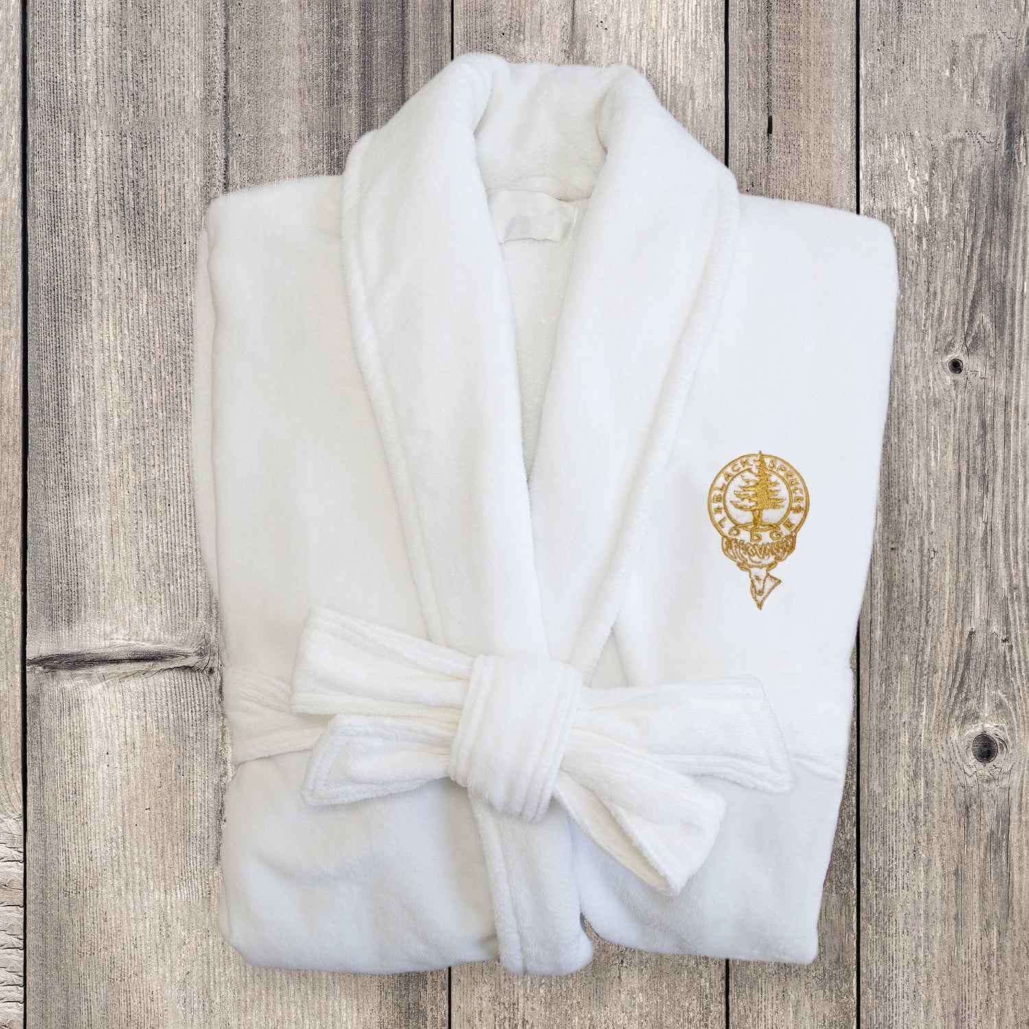 Custom Logo Monogramming For Luxury Hotel Spa Robes Luxury Spa Robes
