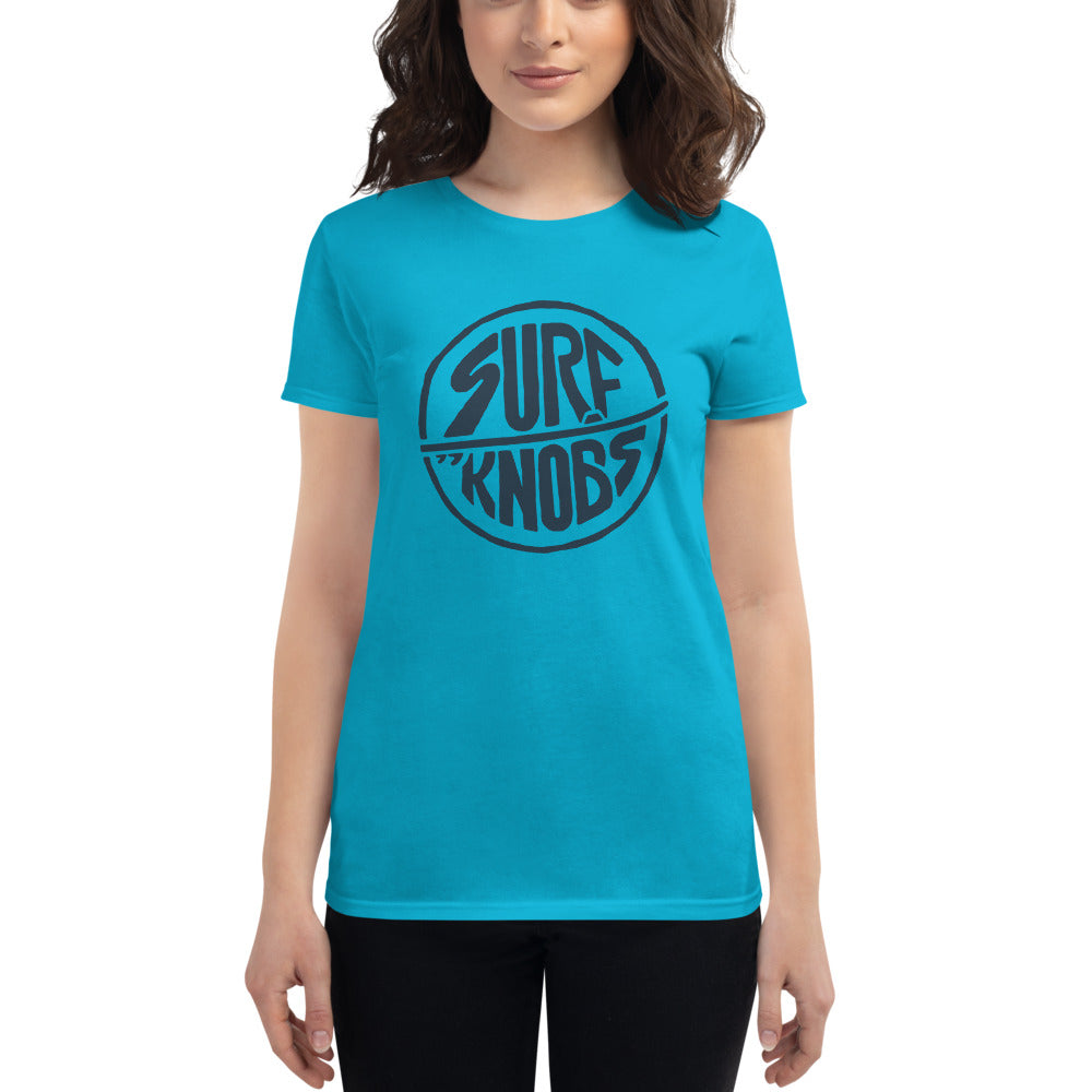 Women's short sleeve t-shirt - Surf Knobs