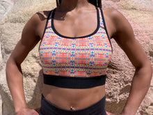 Load image into Gallery viewer, colorful sports bra