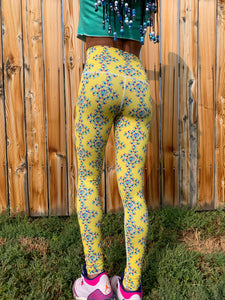 Gels Yellow Warrior Legging