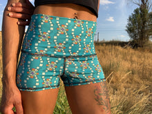 Load image into Gallery viewer, Arcade High-Waist Yoga Shorts