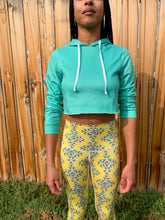 Load image into Gallery viewer, Mint Crop Hoodie