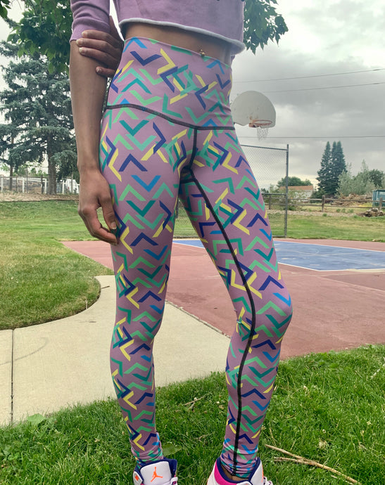 Grape Ash Warrior Legging