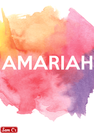 Amariah Name Meaning And Origin