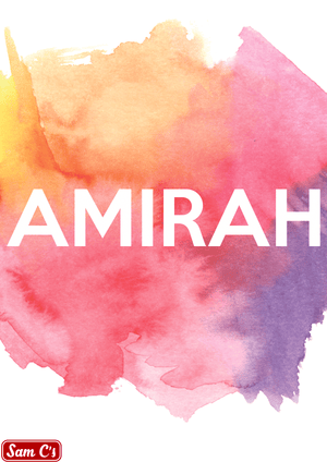 Amirah Name Meaning And Origin