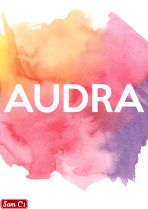 Audra Name Meaning And Origin