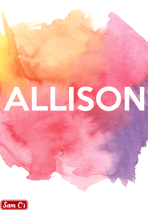Allison Name Meaning And Origin