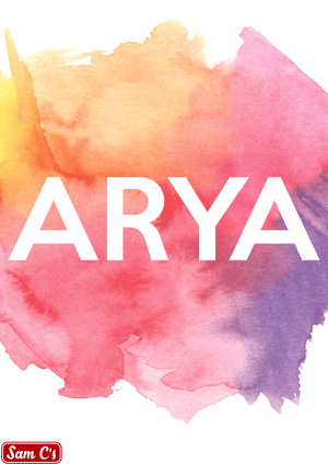 Arya Name Meaning And Origin