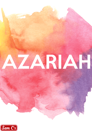 Azariah Name Meaning And Origin
