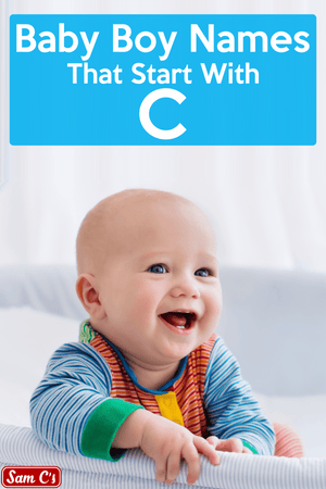 Baby Boy Names That Start With C