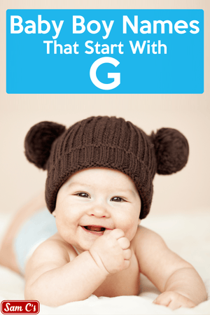 Baby Boy Names That Start With G