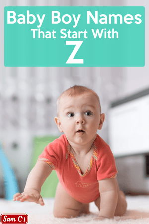 Baby Boy Names That Start With Z