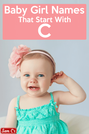 Baby Girl Names That Start With C
