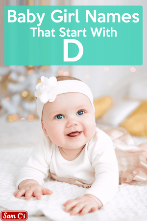 Baby Girl Names That Start With D