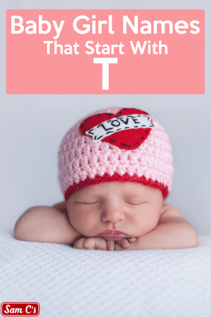 Baby Girl Names That Start With T