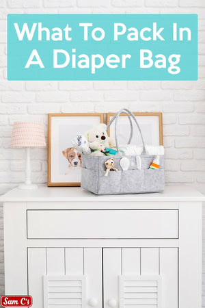 Diaper Bag Essentials Kit