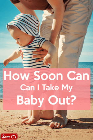 How Soon Can I Take My Baby Out In Public?
