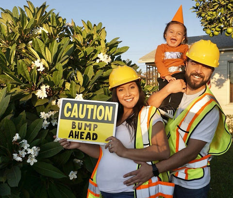 cute pregnancy announcements for construction workers