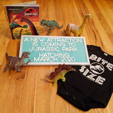 jurassicpark pregnancy announcement