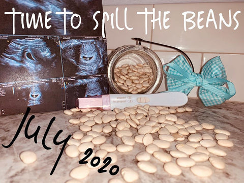 spill the beans pregnancy announcement