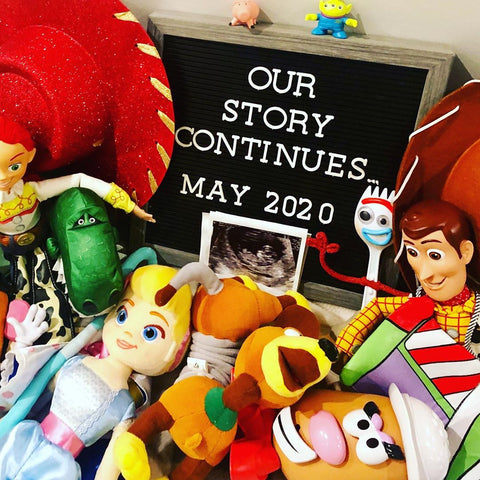 toy story pregnancy announcement