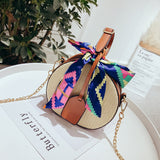Straw Bolsa Feminina Beach Bag Shoulder Bag Messenger Crossbody Bags for Women Handbag Bags