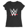 WWE Logo Women's Tri-blend T-shirt