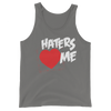 "The Miz ""Haters Love Me"" Unisex Tri-blend Tank Top"