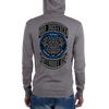 "The Shield ""No Justice Without Us"" Lightweight Unisex Zip Hoodie"