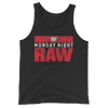 Monday Night RAW Logo Unisex Tank Top