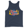 King of the Ring Classic Logo Unisex Tank Top - wweretro