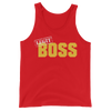 "Sasha Banks ""Legit Boss"" Unisex Tank Top"