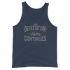 "Goldberg ""The Devastation Continues"" Unisex Tank Top - wweretro"