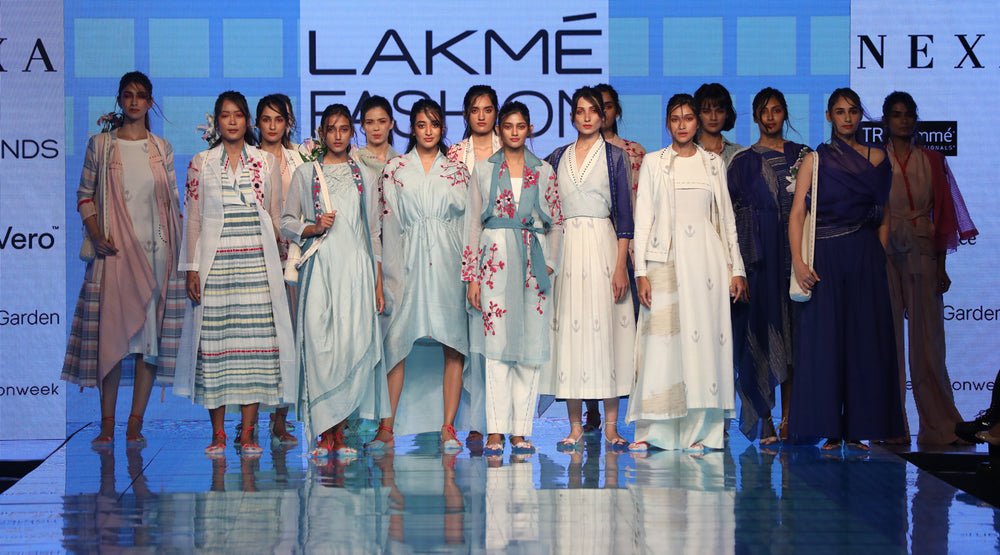 Vistoso - Tahweave spring summer'20 collection at lakme fashion week