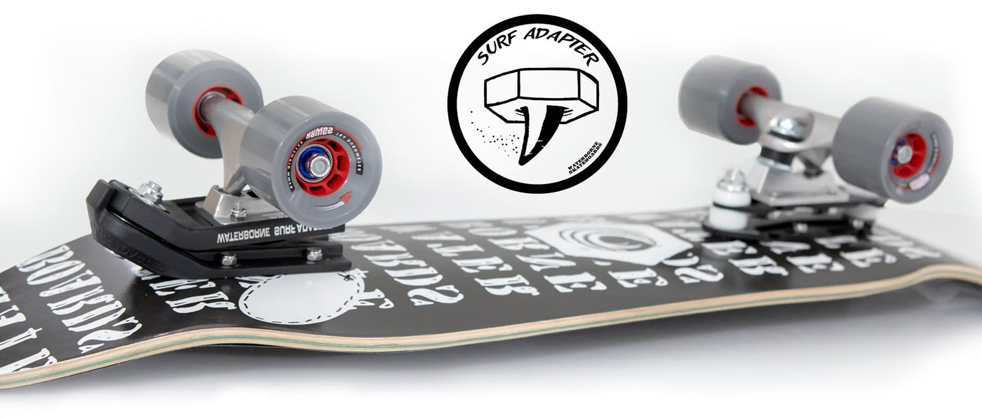 Surf Adapter Landing - Waterborne Skateboards