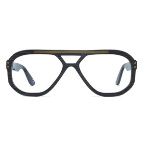 dark grey navigator glasses