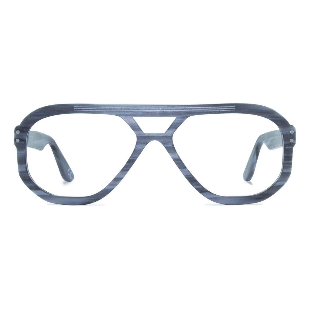 light grey navigator glasses