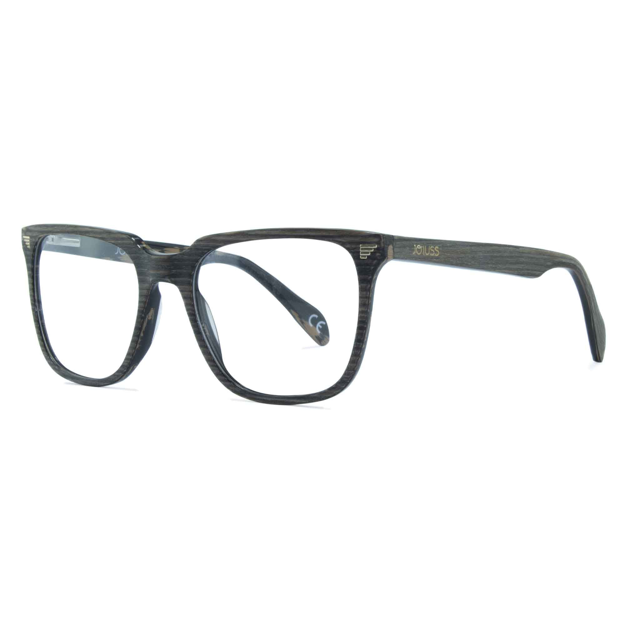 dark grey wayfarer glasses