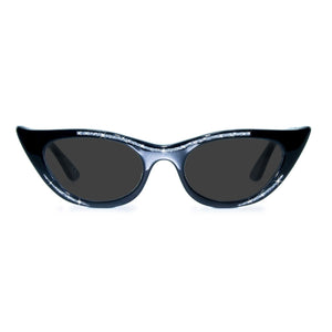 black winged cat eye sunglasses