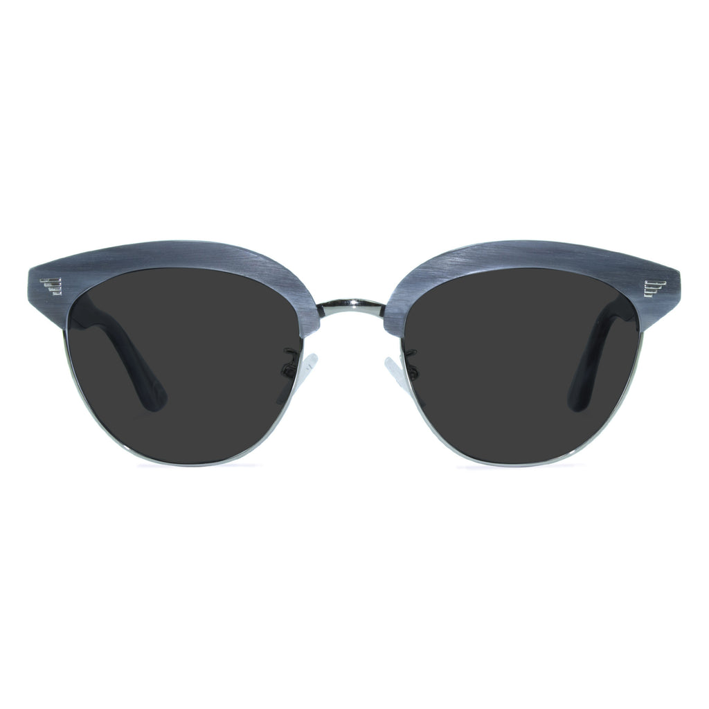 light grey browline sunglasses