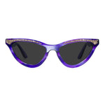 maryloo purple cat eye glasses
