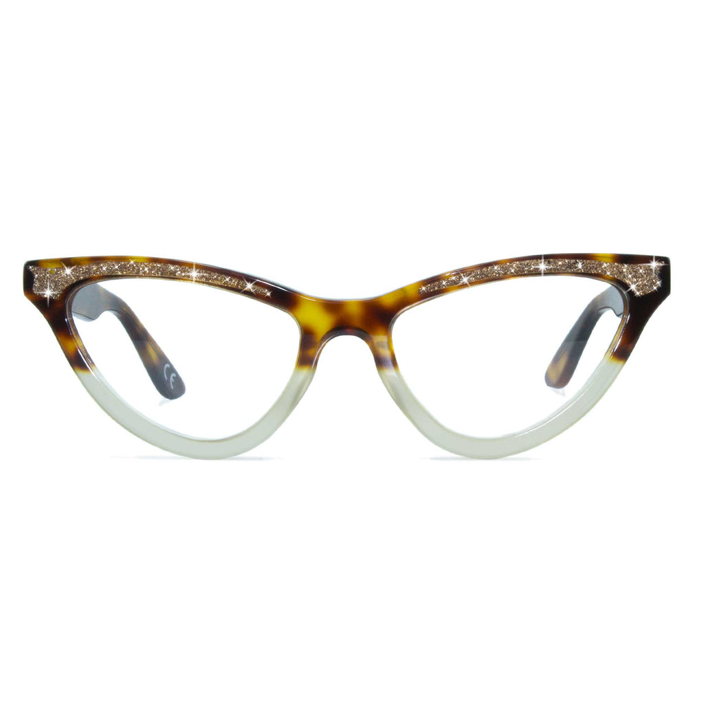 tortoiseshell cat eye glasses