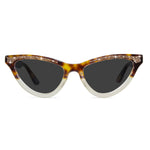 maryloo tortoiseshell cat eye sunglasses