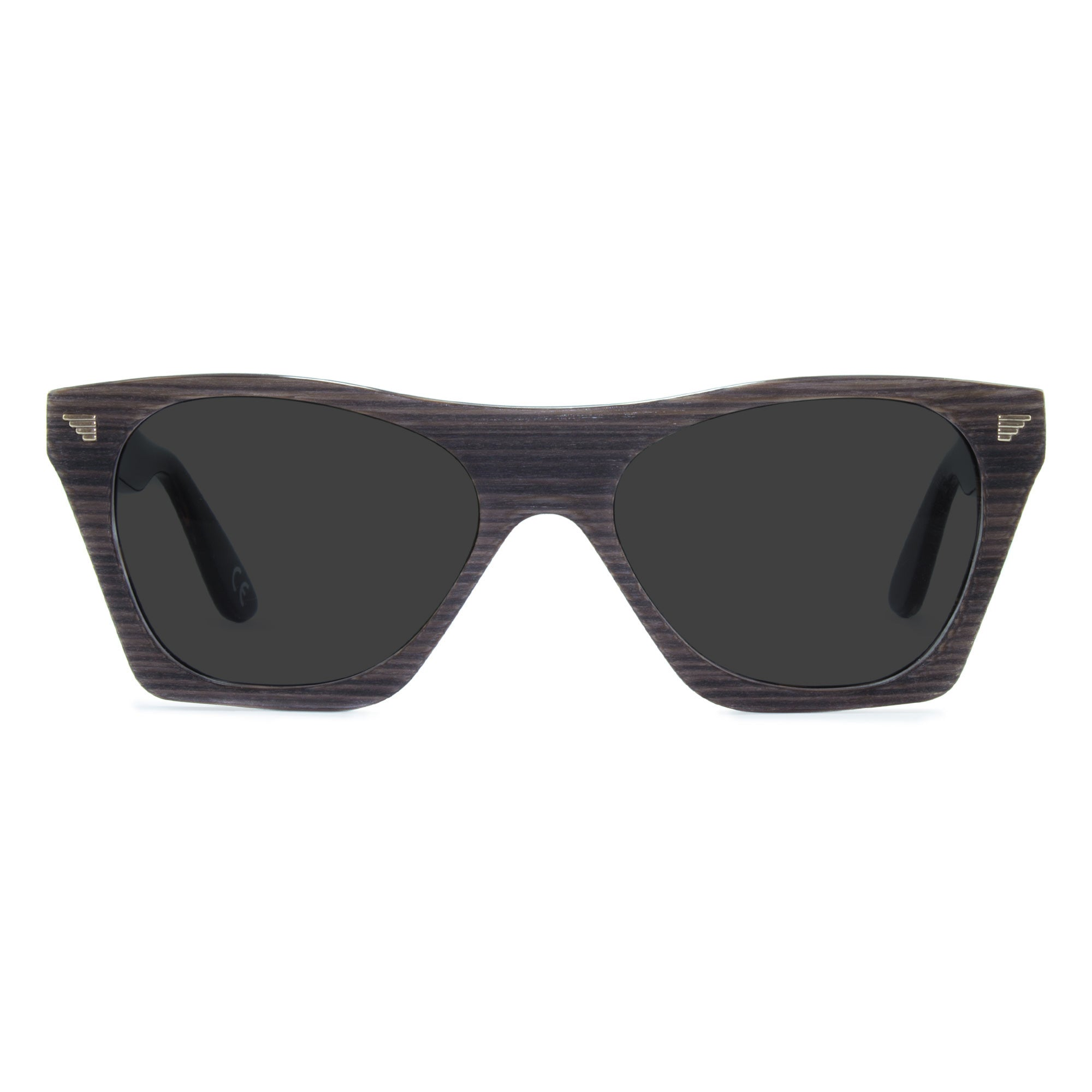 dark grey wayfarer sunglasses