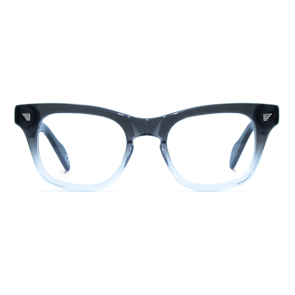 russ black wayfarer glasses