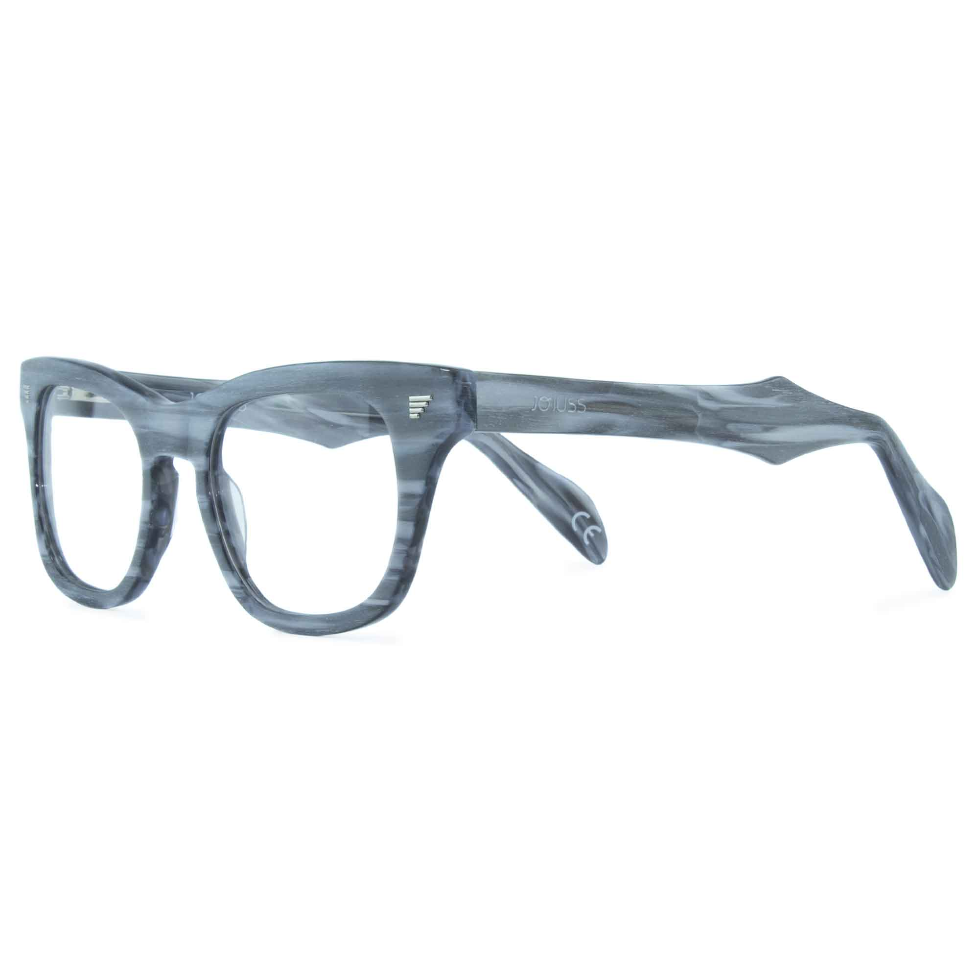 light grey wayfarer glasses