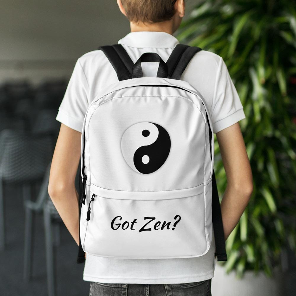 Yin Yang Zen Backpack